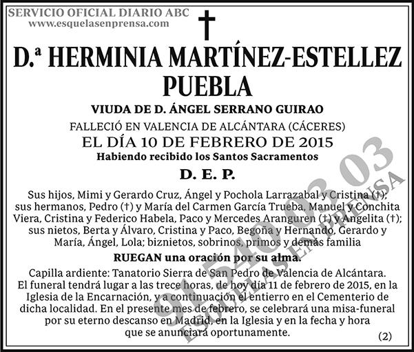 Herminia Martínez-Estellez Puebla